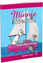Minnie The Westie - sailor dog vacation cartoon book