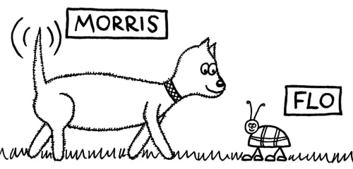 Morris and Flo