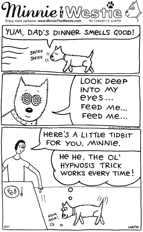 Minnie The Westie cartoon #0031