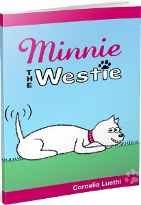 Minnie The Westie - book cover