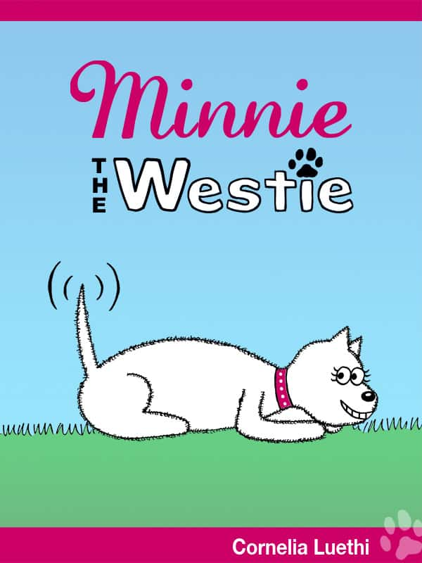 Photo #3: front cover of the book 'Minnie The Westie'