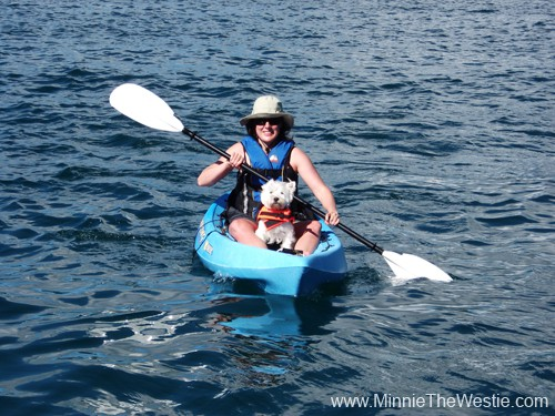 Mum and I on our very first kayak outing together.