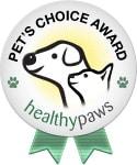 Pet's Choice Award Badge